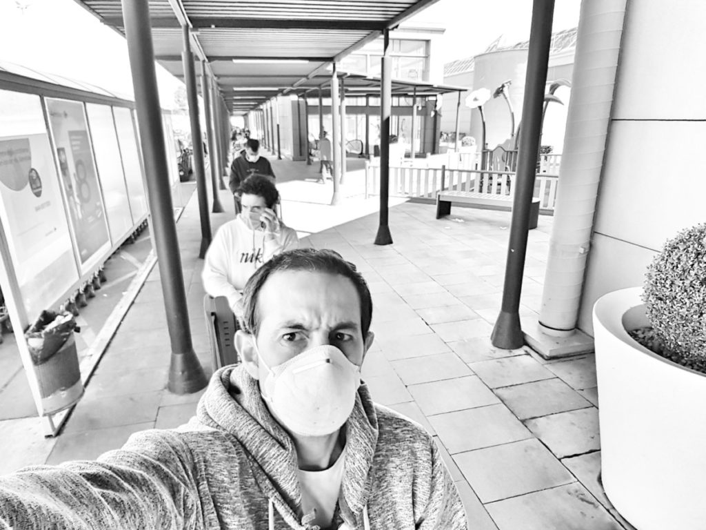 Coronavirus y salir a comprar, toda una odisea