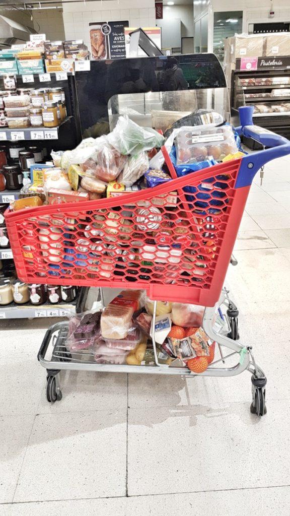 Salir a comprar con el covid19