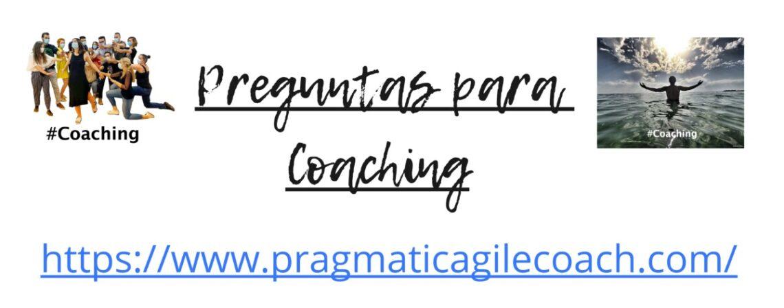 Preguntas para Coaching